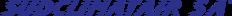 Logo SUDCLIMATAIR - Climatisation, Rafraîchissement, VMC, Ventilation, Centrale de Traitement d'Air, Double Flux, Récupération d'Énergies, Diffusion d'air, Accessoires de ventilation, Pompe A Chaleur, Chauffage, Épuration d'Air, Dépollution - Genève, suisse, Lausanne, vaud