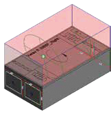 Bibliothèque de dessins 3D Komfovent HUB-Verso Standard pour utilisateurs REVIT